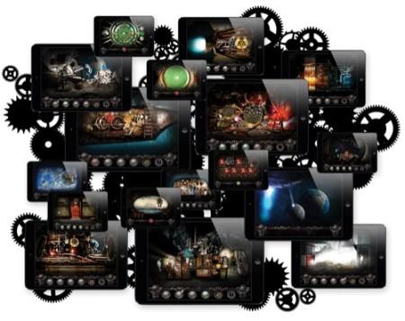 iPad向けスチームパンク謎解きゲーム「Steampunker」、クラウドファンディングサービス「Indiegogo」にてiPhone版/Android版_PC版の開発資金を調達成功2