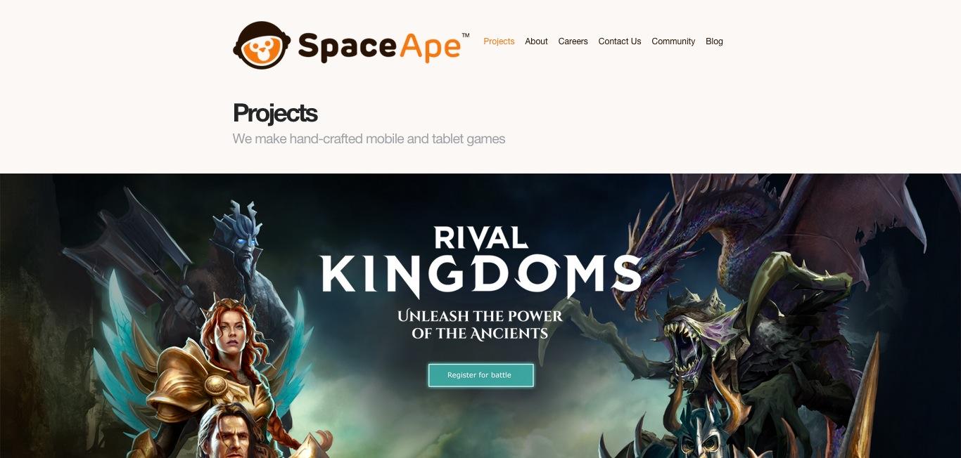 スマホ向けゲーム「サムライ大合戦」提供の英Space Ape Games、新たに700万ドルを調達