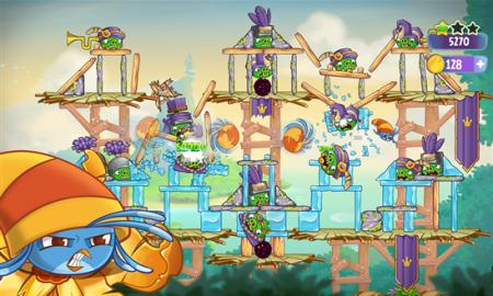 Rovio、Angry Birdsのスピンオフタイトル「Angry Birds Stella」のWindows Phone版をリリース2