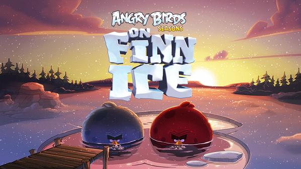 雪!メタル!クリスマス!「Angry Birds」シリーズの季節版「Angry Birds Seasons」、フィンランド尽くしの新ステージ「On Finn Ice」を追加