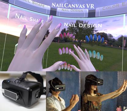 VoxcellDesign、VRでネイルを体験できるOculus Rift対応のバーチャルネイルアートシステム「NailCanvas VR」を公開