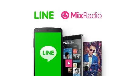 LINE、Microsoftより音楽配信サービス「MixRadio」を買収