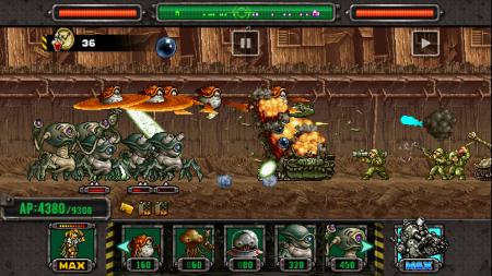 SNKプレイモアのスマホ向けディフェンスゲーム「メタルスラッグ ディフェンス」、1800万ダウンロードを突破2