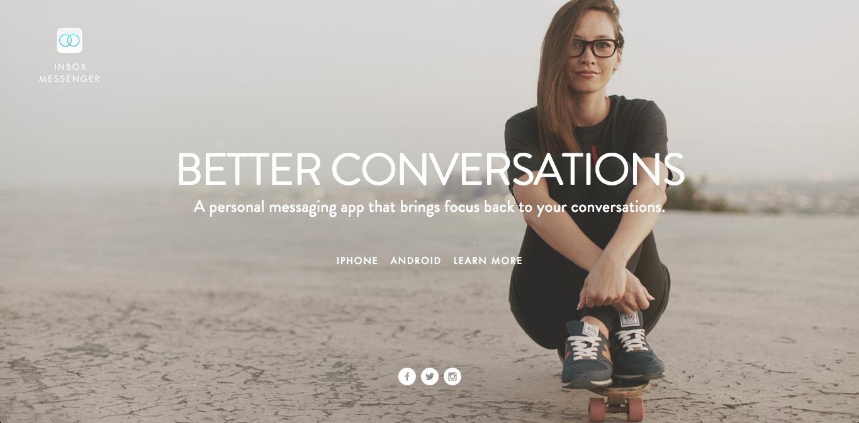スマホ向けメッセージングアプリ「Inbox Messenger」、390万ドルを調達