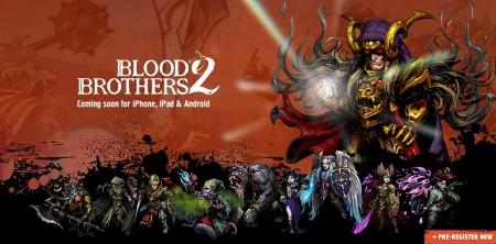 DeNA、グローバル市場向けモバイルRPG「Blood Brothers」の続編を2015年リリース