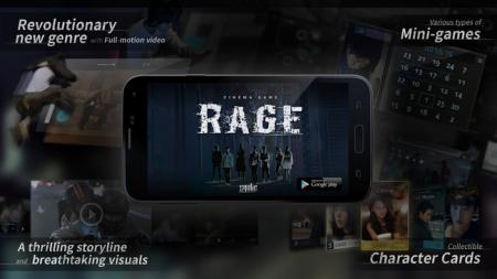 Syobe Creative、実写映像を使用したAndroid向けシネマゲーム「Cinema Game:RAGE」をリリース