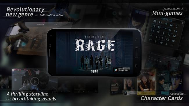 Syobe Creative、映画と連動したAndroid向けシネマゲーム「Cinema Game:RAGE」をリリース