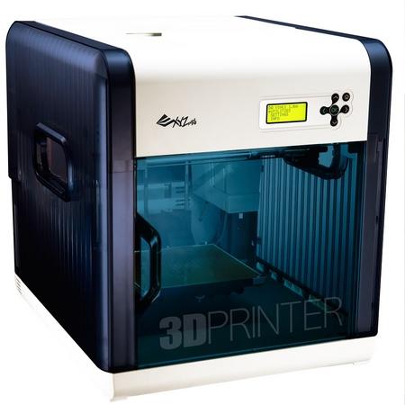 XYZプリンティングジャパン、ABS樹脂とPLA樹脂に対応する個人向け3Dプリンタ「ダヴィンチ 1.0A」を発売 価格は69,800円