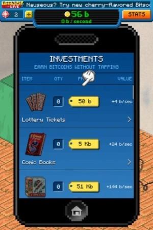 仮想通貨でボロ儲け!ビットコインを荒稼ぎするインフレゲーム「Bitcoin Billionaire」9
