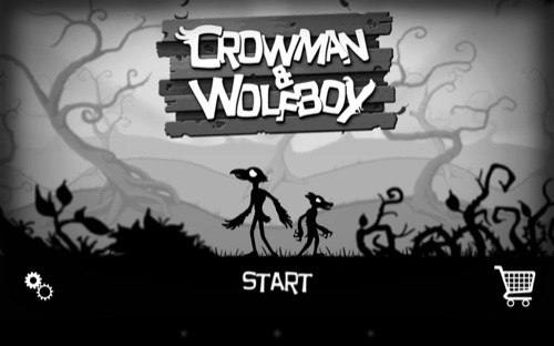 【やってみた】まるでサイレント映画のようなレトロな横スクロールアクションゲーム「Crowman and Wolfboy」