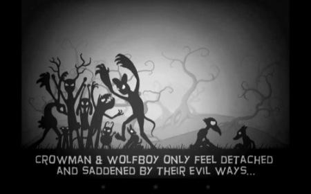 【やってみた】まるでサイレント映画のようなレトロな横スクロールアクションゲーム「Crowman and Wolfboy」2