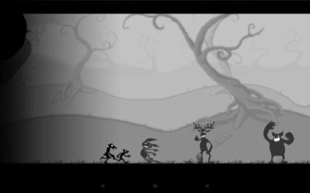 【やってみた】まるでサイレント映画のようなレトロな横スクロールアクションゲーム「Crowman and Wolfboy」5