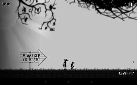 【やってみた】まるでサイレント映画のようなレトロな横スクロールアクションゲーム「Crowman and Wolfboy」9