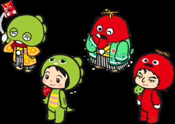 サミーネットワークス、ラーメン店経営シミュレーションゲーム「ラーメン魂」にてガチャピン&ムックとコラボ2