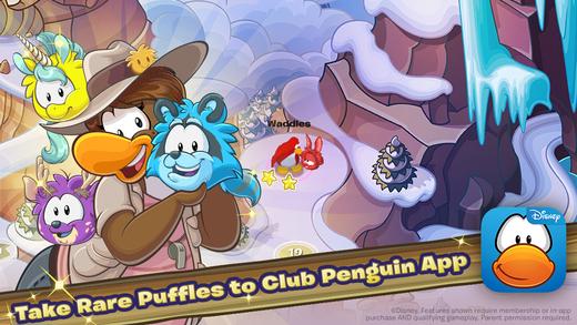 ディズニー、子供向け仮想空間「Club Penguin」のスピンオフとなるスマホゲーム「Club Penguin Puffle Wild」をリリース1