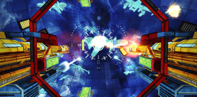 英ゲームデベロッパーのNdreams、サムスンのVR用ヘッドマウントディスプレイ「Gear VR」に対応したシューティングゲーム
