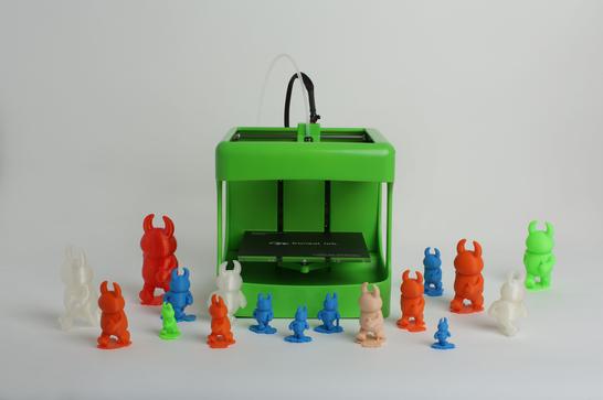 ボンサイラボ、ドイツの玩具ショー「Spielwarenmesse」に出展し新型3Dプリンタの「BS TOY」80℃で造形できる低温融解フィラメントを発表1