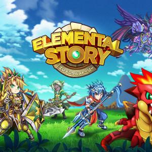 クルーズのスマホ向け新作RPG「Elemental Story」、50万ダウンロードを突破