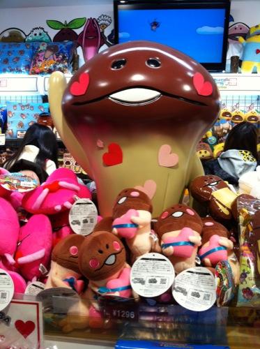 【レポート】「なめこ市場 東京本店」のバレンタインフェアに行ってきた