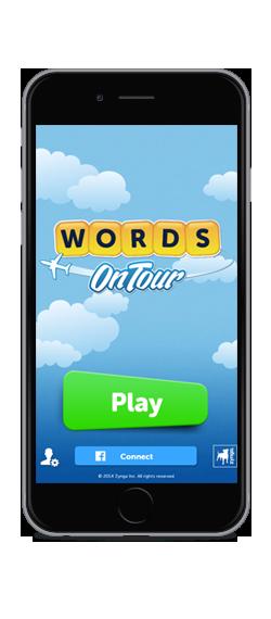 Zynga、新作言葉パズルゲーム「Words On Tour」をリリース