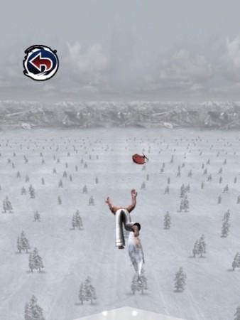 【やってみた】空手家が鼻水を垂らしながらスキージャンプする落下シミュレーター(?)「スキージャンプ アルティメイタム」10