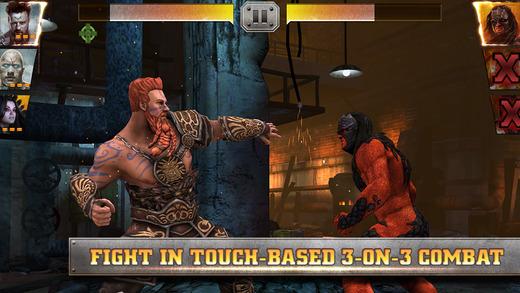 レスラーがファンタジー世界の住人に ワーナーとWWE、スマホ向けプロレスゲーム「WWE Immortals」をリリース