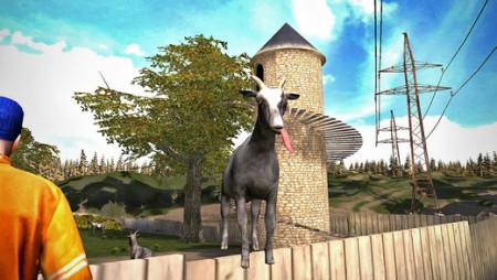 ヤギ大暴れシミュレーションゲーム「Goat Simulator」、250万ダウンロードを突破