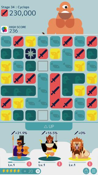 オインクゲームズのスマホ向けパズルゲーム「MUJO」、100万ダウンロードを突破