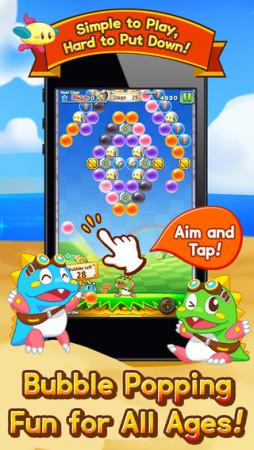 gumi、スマホ向けパズルアドベンチャー「パズルボブル」を北米でも提供開始