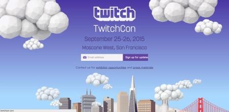 ゲーム動画配信サービスのTwitch、9/25-26にコミュニティイベント「TwitchCon」を開催