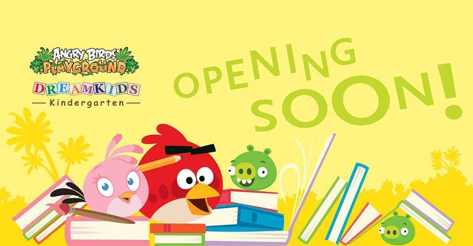 """Angry Birdsのテーマパークがシンガポールにも進出 地元の幼稚園と協力し""""楽しみながら学べる""""場所へ"""