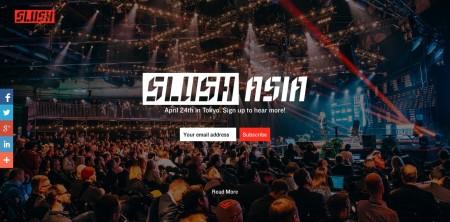 フィンランドのスタートアップ向けイベント「Slush」が東京に上陸! 4/24に「Slush Asia」開催決定