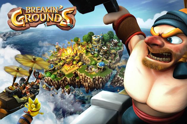 クルーズ、スマホ向けストラテジーゲーム「Breakin' Grounds」を世界155ヶ国にてリリース
