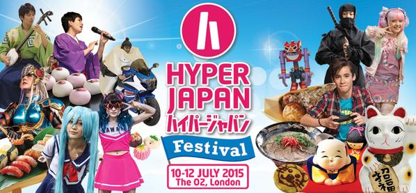 イギリス最大の日本文化の祭典「HYPER JAPAN 2015」、今年もロンドンにて7/10-12に開催決定