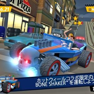 """""""クレタク""""にマテルのミニカーが登場! セガネットワークス、「Crazy Taxi:City Rush」にてミニカー・ブランド「Hot Wheels」とコラボ"""