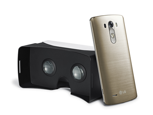 LG、最新スマホ「LG G3」を購入した人にもれなくVRゴーグル「VR for G3」をプレゼント