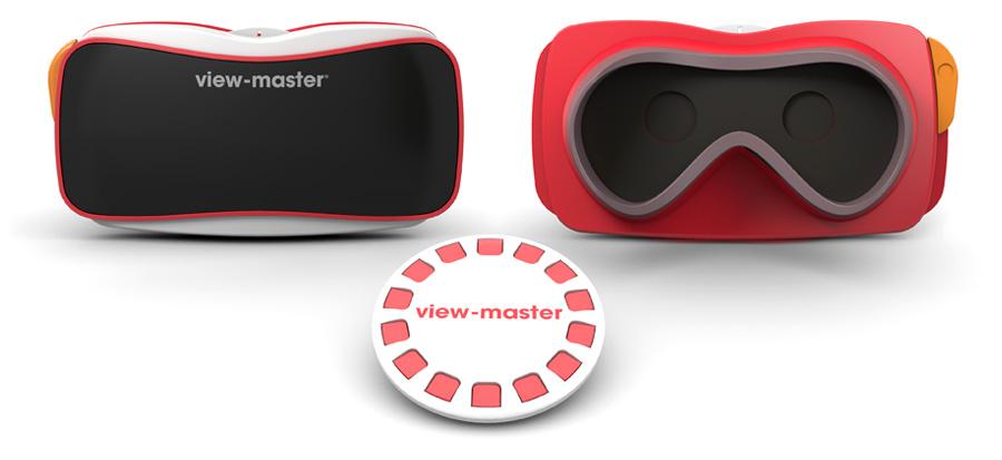 玩具メーカーのマテルもVRに参入 スマホをセットする簡易型VRゴーグル「View Master」を発表