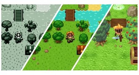 モノクロから3Dへ…フランスのShiro Games、ゲームの進化を辿るRPG「Evoland」のスマホ版をリリース