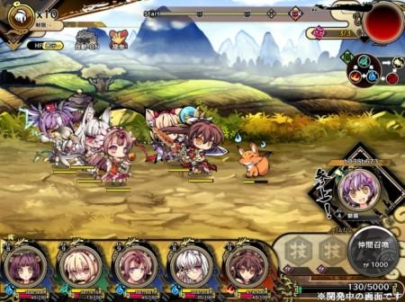 DDMMの新作横スクロール進撃RPG「九十九姫」、本日よりサービス開始