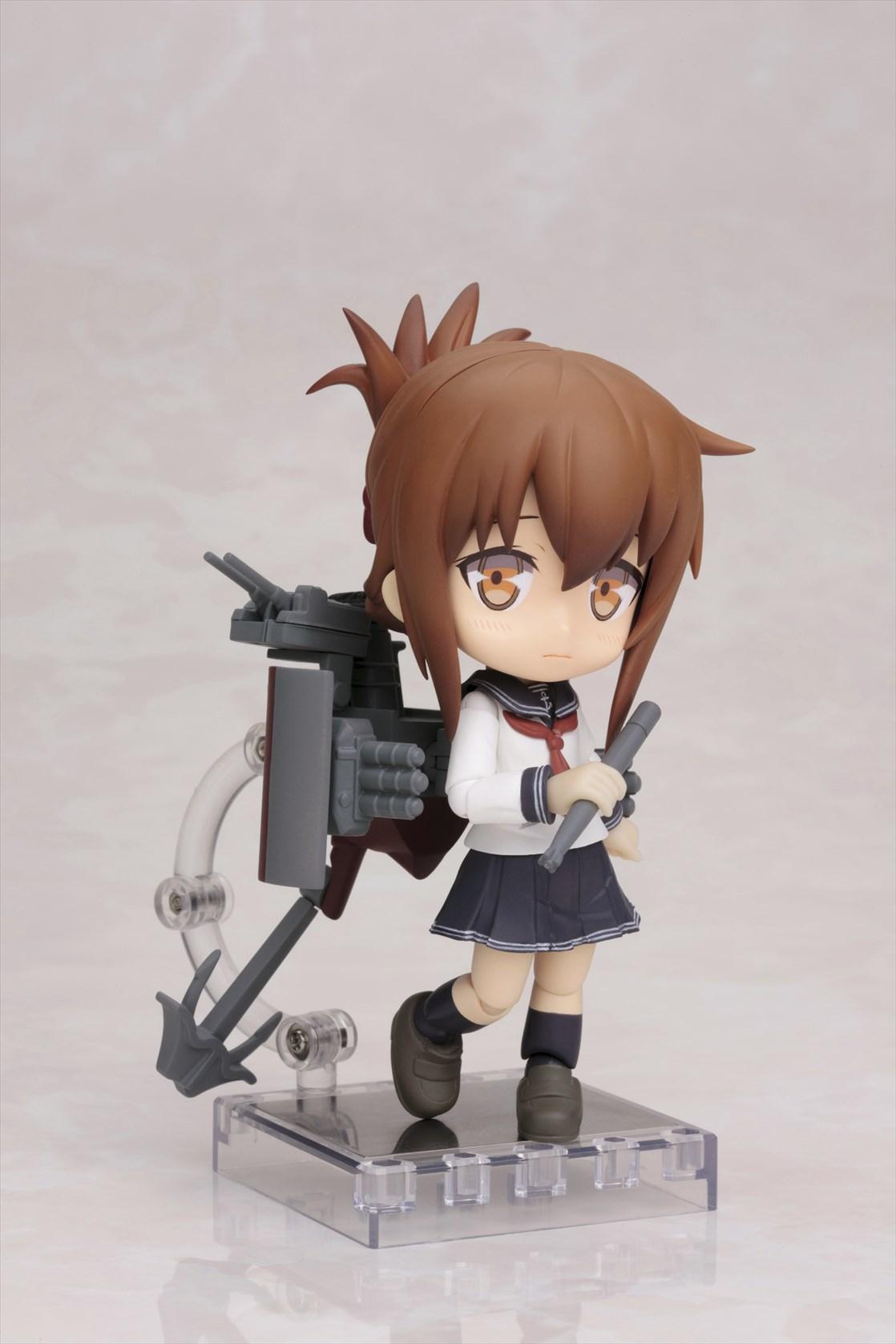 壽屋、「艦これ」の駆逐艦「電」のデフォルメフィギュアを2015年7月に発売
