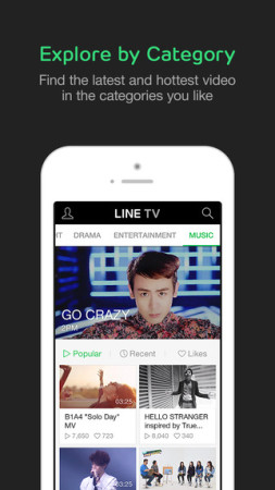 LINE、タイにて動画サービス「LINE TV」を先行提供