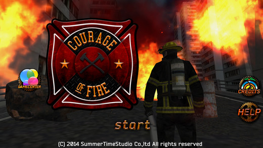 SummerTimeStudio、消防士となり鎮火作業を行うスマホ向け新作アクションゲーム「Courage Of Fire」のiOS版をリリース