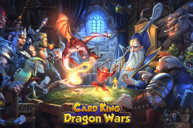 クルーズ、5分で遊べる育成型トレーディングカードゲーム「Card King : Dragon Wars」のiOS版を一部の国・地域向けに先行配信