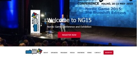 5/20-22、スウェーデンにて北欧ゲーム業界のカンファレンスイベント「Nordic Game 2015」開催