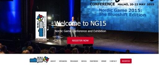 5/20、スウェーデンにて北欧ゲーム業界のカンファレンスイベント「Nordic Game 2015」開催