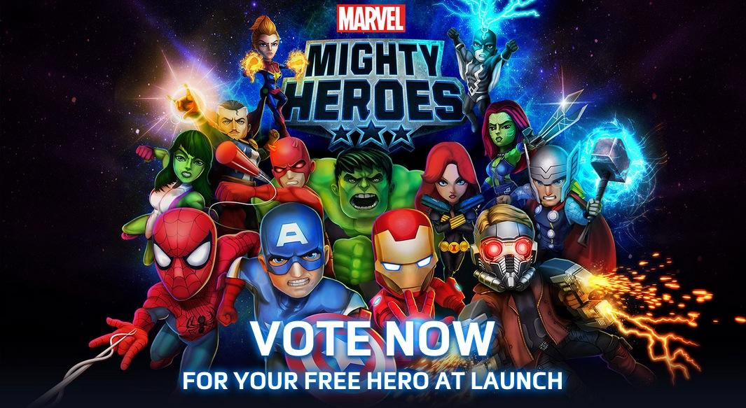 DeNAとマーベル・コミックス、マーベルヒーローの新作ゲーム「Marvel Mighty Heroes 」の事前登録受付を開始