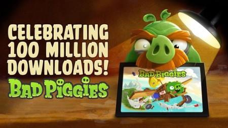 Angry Birdのスピンオフタイトル「Bad Piggies」、100万ダウンロードを突破