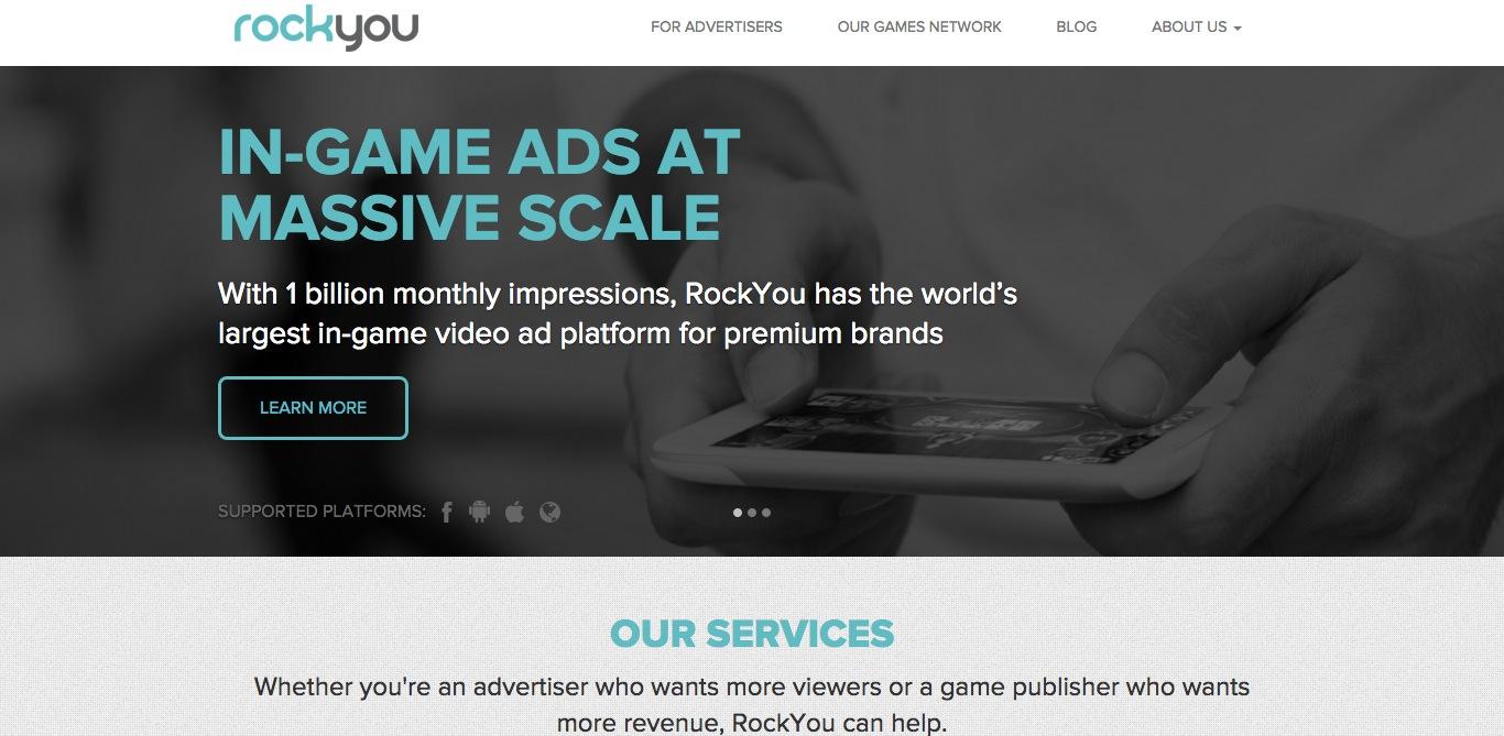 ソーシャルゲームディベロッパーのRockYou、シリーズFラウンドにて2300万ドルを調達