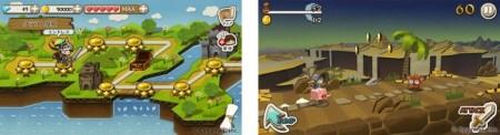 LINEとCygames、LINE GAMEにてステージクリア型ランアクションゲーム「LINE ペーパーダッシュワールド」をリリース