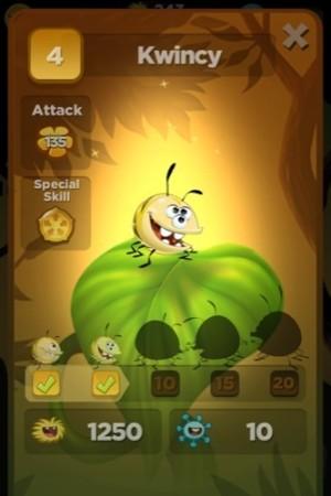 【やってみた】昆虫とナメクジの仁義なき戦い!3D演出が楽しいパズルRPG「Best Fiends」